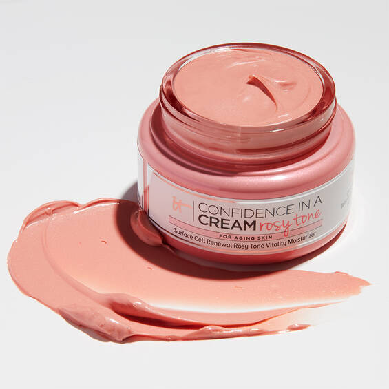 Confidence in a Cream Rosy Tone Moisturiser