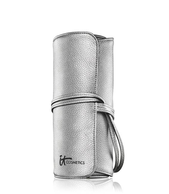 Travel With IT  Silver Brush Roll