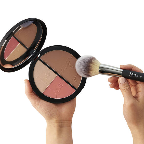 Your Most Beautiful You Matte Bronzer, Radiance Luminizer & Brightening Blush Palette